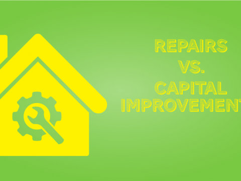 Repair and Capital Improvements on Myrtle Beach Investment Property